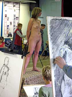 life model and figure drawings