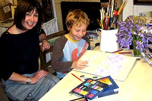 person art tuition is enjoyed by all artists of all ages